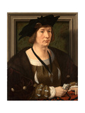 Portrait of Henry III of Nassau-Breda (1483-153) Giclee Print by Jan Gossaert