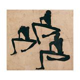 Composition with Three Male Nudes, 1910 Wydruk giclee autor Egon Schiele