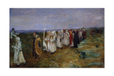 Easter Procession Giclee Print by Ivan Semenovich Malinin