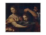 Salome Receives the Head of John the Baptist Giclee Print by Bernardino Luini