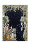 Harlequin and Death, 1907 Giclee Print by Konstantin Andreyevich Somov