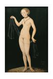 Vénus Reproduction procédé giclée par Lucas Cranach the Elder
