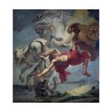 The Fall of Phaeton, End of 17th C Giclee Print