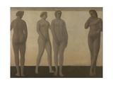Artemis, 1893-1894 Giclee Print by Vilhelm Hammershoi