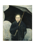 The Umbrella, 1883 Giclee Print by Maria Konstantinovna Bashkirtseva