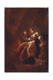 Judah and Tamar Giclee Print by Franz Anton Maulbertsch