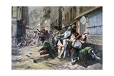 Siege of Lille, October 1792 Giclee Print by Gaston Theodore Melingue