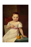 Portrait of Nastenka Khavskaya, 1826 Giclee Print by Alexei Gavrilovich Venetsianov