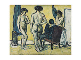 The Judgment of Paris, 1909 Giclee Print by Harald Giersing