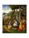 Nativity, Ca 1515 Giclee Print by Lorenzo Leonbruno