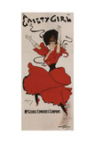 Poster for the Musical Comedy a Gaiety Girl by Sidney Jones, 1894 Giclee Print by Dudley Hardy