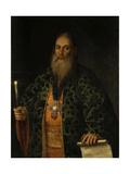 Portrait of Fyodor Dubyansky, 1761 Giclee Print by Alexei Petrovich Antropov