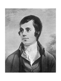 Robert Burns, Scottish Poet, 19th Century Giclee Print by Alexander Nasmyth