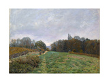 Landscape at Louveciennes, 1873 Giclee Print by Alfred Sisley