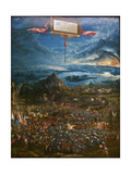 The Battle of Alexander at Issus, 1529 Giclee Print by Albrecht Altdorfer