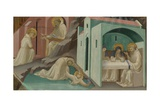 Incidents in the Life of Saint Benedict, 1408 Giclée-tryk af Lorenzo Monaco