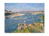 The Nile Near Aswan, 1914 Giclee Print by Max Slevogt