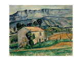 House in Provence, 1886-1890 Giclee Print by Paul Cézanne