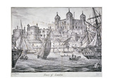 Tower of London, 1829 Giclee Print by Nathaniel Whittock
