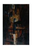 Violin, 1920 Giclee Print by Lev Alexandrovich Yudin