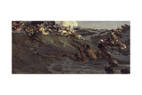 Playing Naiads and Tritons, 1899 Giclee Print