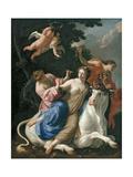 The Rape of Europa, C. 1640 Giclée-Druck von Simon Vouet