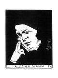 Robert Schumann (1810-185), 1893 Giclee Print by Felix Edouard Vallotton
