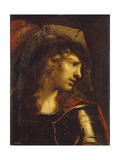 Head of the Young Warrior Giclée-Druck von Pietro Della Vecchia