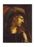Head of the Young Warrior Giclée-Druck von Pietro Della Vecchia