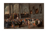 To Visit the Sick, C. 1640 Giclee Print by Cornelis De Wael