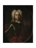 Portrait of Prince Ivan Alexeyevich Golitsyn (1658-172), 1728 Giclee Print by Andrei Matveyevich Matveyev