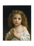 Little Girl, 1878 Giclee Print by William-Adolphe Bouguereau