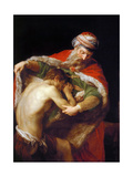 Return of the Prodigal Son, 1773 Giclée-tryk af Pompeo Girolamo Batoni