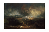 The Fifth Plague of Egypt, 1800 Giclee Print by Joseph Mallord William Turner