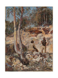 Fossickers, 1893 Giclee Print by Walter Herbert Withers