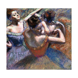 The Dancers, 1899 Giclee Print by Edgar Degas