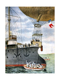 On the Open Sea, 1901 Giclee Print