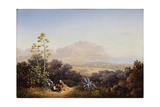 View of Palermo, 1845 Giclee Print by Sokrat Maximovich Vorobyev