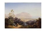 View of Palermo, 1845 Giclee Print by Sokrat Maximovich Vorobyev