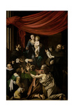 Madonna of the Rosary, 1605-1607 Giclee Print by  Caravaggio