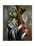 Christ Carrying the Cross, Ca 1602 Giclee Print by  El Greco