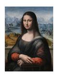 Mona Lisa (La Giocond), 1503-1516 Giclee Print by  Leonardo da Vinci
