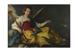 A Personification of Fame, C. 1635 Giclee Print by Bernardo Strozzi