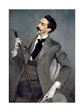 Portrait of Count Robert De Montesquiou Giclee Print by Giovanni Boldini