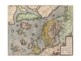 The Baltic Sea (From: Theatrum Orbis Terraru), C. 1608-1610 Giclee Print by Abraham Ortelius