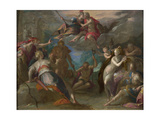 The Amazement of the Gods, 1590S Giclee Print by Hans von Aachen