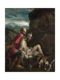The Good Samaritan, Ca 1562-1563 Giclee Print by Jacopo Bassano