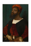 Portrait of an African Man, Ca 1530 Giclee Print by Jan Mostaert