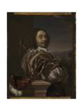 Self Portrait with a Cittern, 1674 Giclee Print by Frans van Mieris the Elder