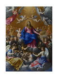 The Coronation of the Virgin, 1607 Giclee Print by Guido Reni